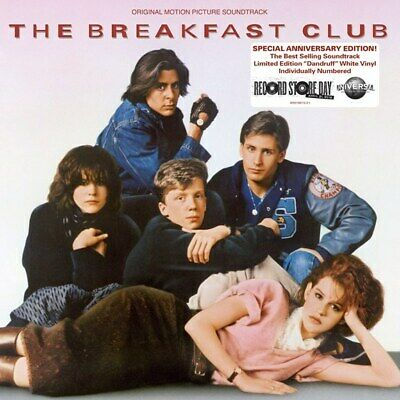 The Breakfast Club original soundtrack vinyl LP NEW/SEALED