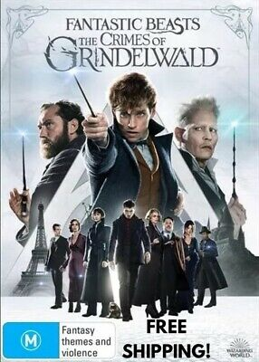 Fantastic Beasts The Crimes Of Grindelwald DVD Reg 4 FREE POST! New! 2018