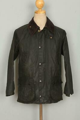 BARBOUR Bedale WAXED Jacket Green Size 32 XSmall