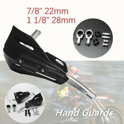"""1Set 7/8""""1 1/8""""Motorcycle Bicycle Hand Guard Prevent Cold Wind Fitting Kit Alloy"""