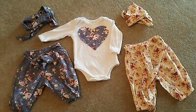 Gorgeous HANDMADE Girls Outfit Bundle Size 00