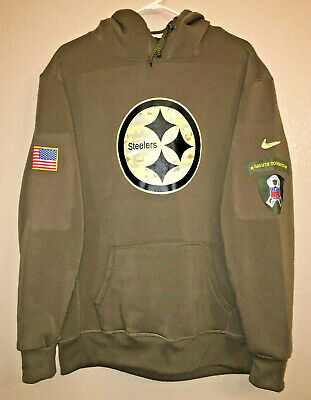brand new 59928 67df0 NIKE PITTSBURGH STEELERS 2018 Mens NFL Salute to Service STS ...