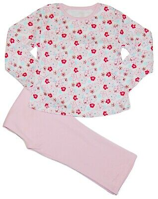 Baby Toddler Girl Floral Flowers Pyjamas Soft Cotton 9 Months upto 3 Years