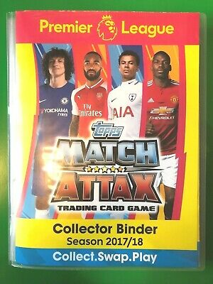 Topps Match Attax 2017/18 - Gold/Silver/Bronze Limited Edition Cards - CHOOSE!