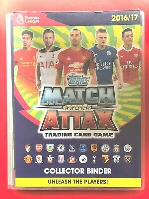 Topps Match Attax 2016/2017 (16/17) - Various Complete Sets - CHOOSE!