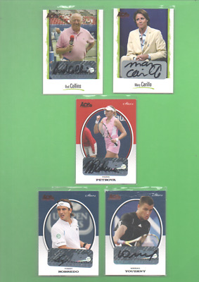 2008 Ace Authentic Grand Slam 2 - Jersey & Dual Jersey Cards (JC) - CHOOSE!