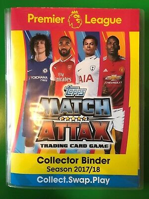 Topps Match Attax 2017/2018 - #361 to #376 - Complete Mini Sub-Sets - CHOOSE!