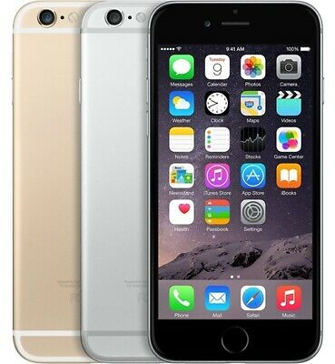 Apple iPhone 6 - 16GB - Sim Free (Unlocked) - All Grades - All Colours