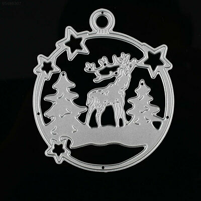 0508 7DFB Christmas Deer DIY Cutting Dies Cutting Stencil Carbon Steel