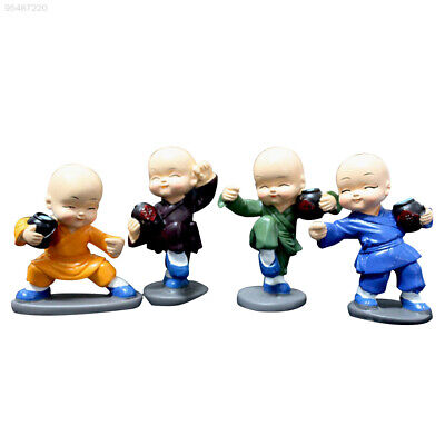 82CE Monk Furnishing Articles Monk Doll Mini Monk Collection Car Party Desk