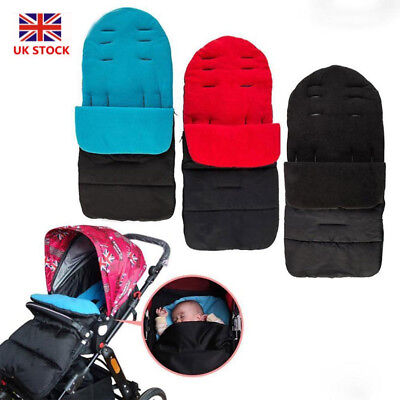 Universal Footmuff Cosy Toes Apron Liner Buggy Pram Stroller For Baby Toddler UK