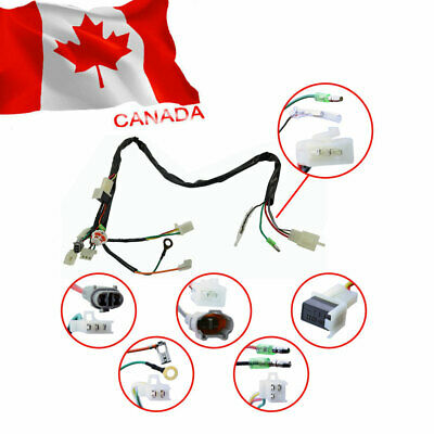 For YAMAHA PW50 REPLACEMENT AFTERMARKET WIRE WIRING HARNESS ASSEMBLY NEW