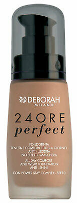 Deborah All Day Comfort and Wear Foundation Anti-Shine SPF 10- 02 True Beige -