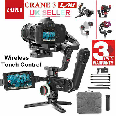 Zhiyun Crane 3 LAB 3-Axis 1080P Handheld Gimbal Stabilizer For DSLR Camera Sony