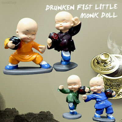 9B97 Multicolor Monk Furnishing Articles Mini Monk Car Party Collection