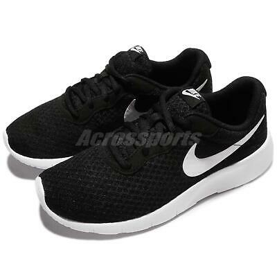 watch 6a661 96b44 Nike Tanjun GS Black White Kid Youth Women Casual Shoes Sneakers 818381-011