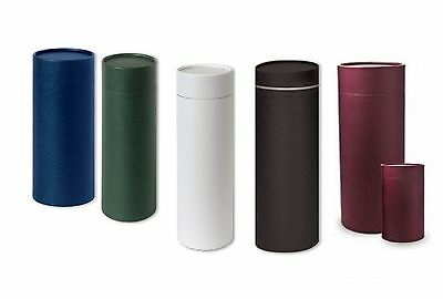 Coloured Scatter Tube. keep sake in different colours
