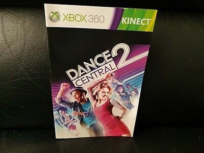 Dance Central 2, Xbox 360 Game Manual, Trusted Ebay Shop