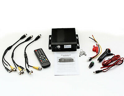 iC6100MDVR HYBRID HD MOBILE TAXI CCTV DVR SD STORAGE UPTO 512GB. KEY LOCK.