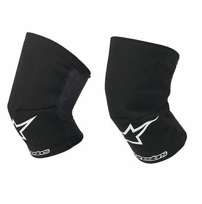 Alpinestars MX Knee Socks Motocross Enduro Quad Dirt Bike - Black XL/XXL