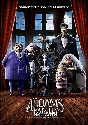 The Addams Family Halloween Movie Film Poster A2 A3 A4A5