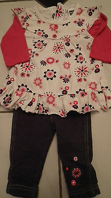Lovely M&co Girls outfit age 0-3months