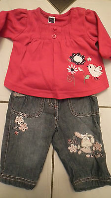 Great Girls Outfit from M&CO and Matalan aged 0-3 months