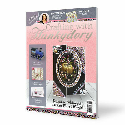 Crafting With Hunkydory 44 ~ Project Magazine ~ Ultimate Guide to Cardmaking