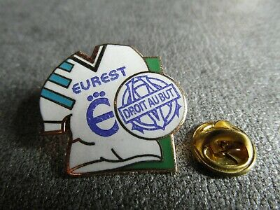 RARE PINS PIN'S - MAILLOT FOOTBALL OM - SPORT - DROIT AU BUT - Signé DUBOURG EGF