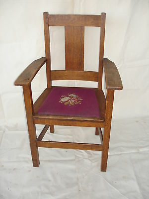 Art & Craft  Limbert Chair - Local pick up only