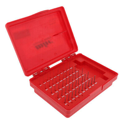 50 Pcs Steel Plug Gauge Block Precision Measurement Tool for Holes Checking