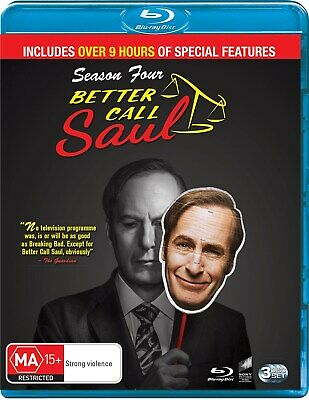 Better Call Saul Season 4 Box Set Blu-ray Region B NEW