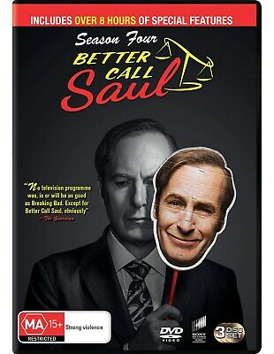 Better Call Saul Season Four Box Set DVD Region 4 NEW