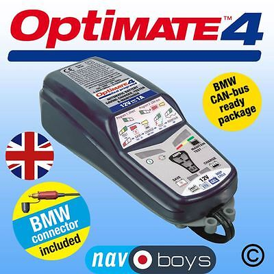 Optimate 4 Can Bus Bmw/Ducati 12V Battery Saving Charger, Tester & Maintainer