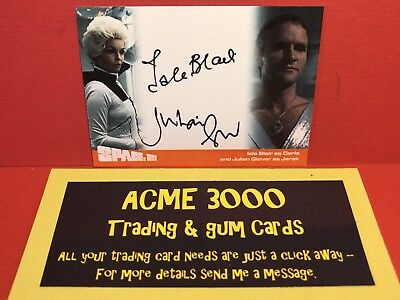 Unstoppable Space 1999 Series 2 - Isla Blair & Julian Glover Dual Autograph Card