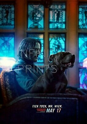 John Wick Chapter 3 Movie Film Poster B A2 A3 A4 A5