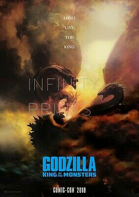 Godzilla King of the Monsters Movie Film Poster A2 A3 A4A5