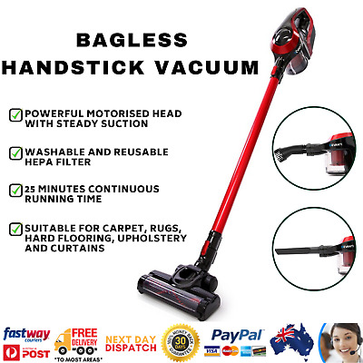 Devanti Cordless Handheld Stick Vacuum Cleaner Bagless Vaccum Rechargeable 150W