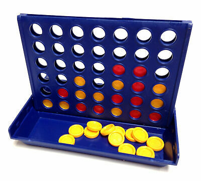 Mini Connect Four In A Row Game 4 Line Game Travel Holiday Toy Pocket Classic
