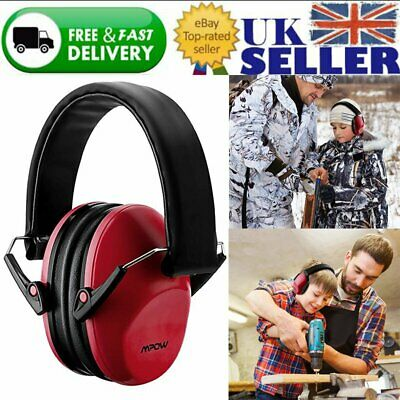 Mpow Kid Ear Defenders Muff SNR 29dB Noise Reduction Hearing Protection Earmuffs