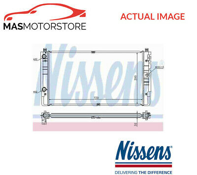 Nissens 62218 Radiator fit for D SIERRA 87-