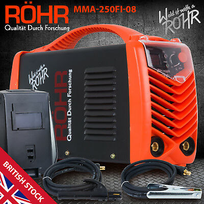ARC Welder Inverter MMA 240V 250amp DC Portable Stick Welding Machine - ROHR 08