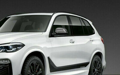 Carbon Fiber Mirror Covers For BMW X5 G05 NEW Gloss