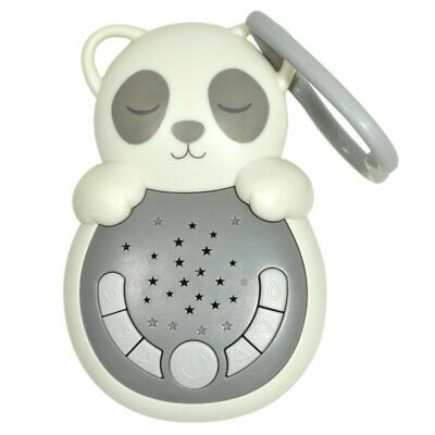 Cloud B® Sweet Dreamz on the Go™ Baby Sound Machine Soother Grey Panda