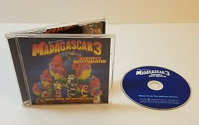 MADAGASCAR 3 EUROPE'S Most Wanted (Blu-ray, 2018) - No