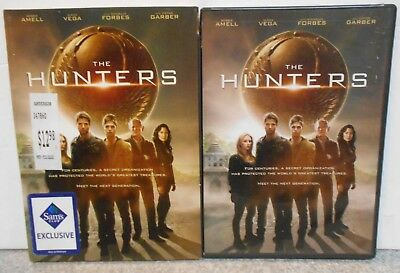 The Hunters (DVD, 2014) RARE SCI FI ADVENTURE BRAND NEW W SLIPCOVER