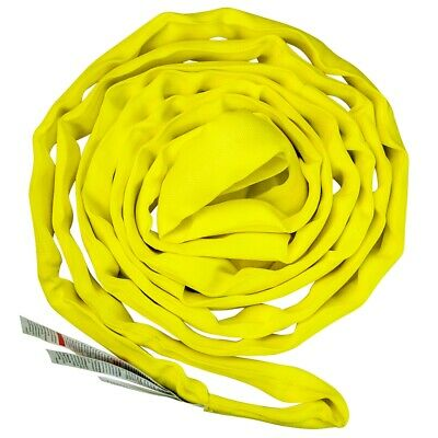 Vulcan Medium Duty Round Sling - YELLOW 8'