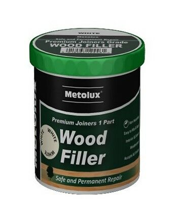 Metolux Premium Joiners 1 Part Wood Filler 500ml (250ml x 2) Various Colours