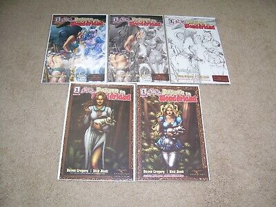 Collectibles Grimm Fairy Tales Return To Wonderland #4 Fantastic Realm Exclusive Variant