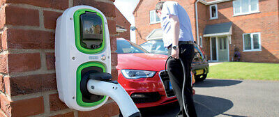 EV Charging Wallpod : 7.2kW Type 2  installed 18th edition, Olev grant available